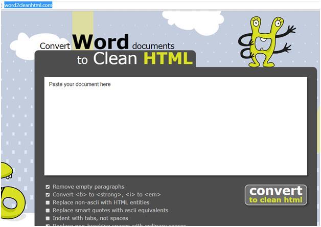 Convert Word